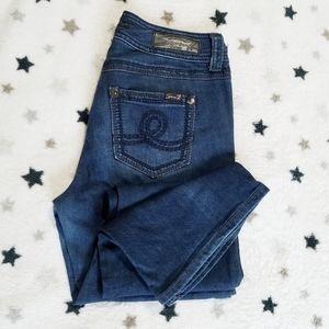 SEVEN7 dark wash bootcut jeans size 10 waist 34